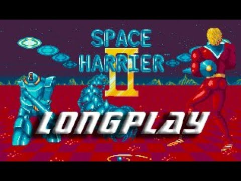 Space Harrier II Commodore Amiga Longplay