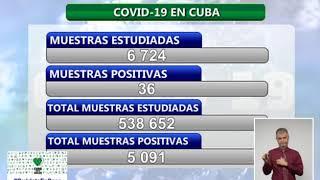Conferencia de Prensa: Cuba frente a la COVID-19 (20 de septiembre de 2020)