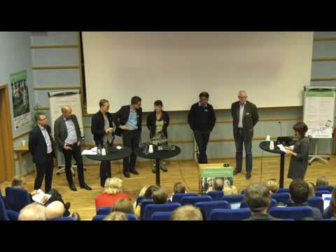 Paneldebatt om bioekonomins förutsättningar - Bioekonomiriksdag 2017