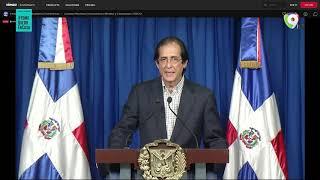 Gobierno Dominicano anuncia nuevas medidas para combatir Coronavirus - Rueda de Prensa Oficial