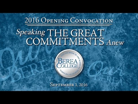 2016 Opening Convocation