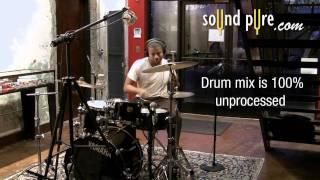 Oceanus Drum Overheads By Lauten Audio - Demo Sneak Preview