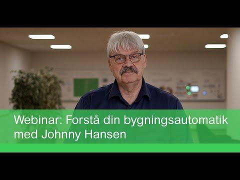 Webinar: Forstå din bygningsautomatik med Johnny Hansen | Schneider Electric