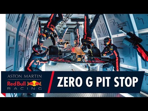 Taking an F1 Pit Stop to a whole new level! | Aston Martin Red Bull Racing's Zero Gravity Pit Stop
