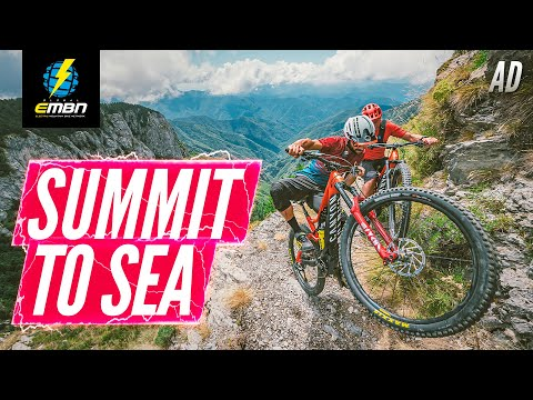 Summit To Sea | An Epic E-Bike Ride With Steve Jones, Fabien Barel, & Scott Sharples