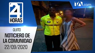 Noticias Ecuador: Noticiero 24 Horas 22/09/2020 ( De la Comunidad Segunda Emisión)