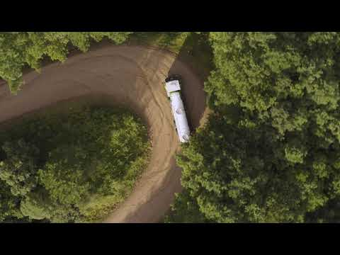 Volvo Trucks - Running footage of a Volvo VM driving through the hilly terrain of southern Brazil