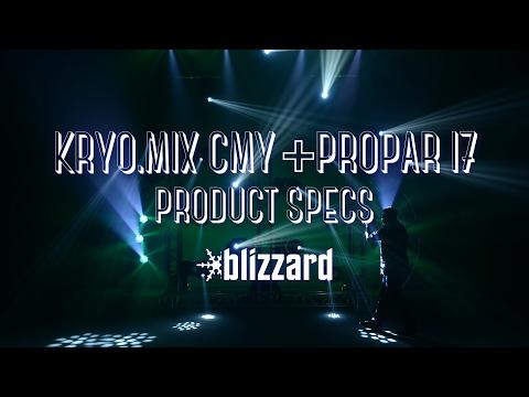 Product Specs Quickie: Kryo.Mix™ CMY + ProPar™ I7