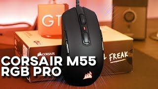 Vidéo-Test Corsair M55 RGB Pro par GamerTech