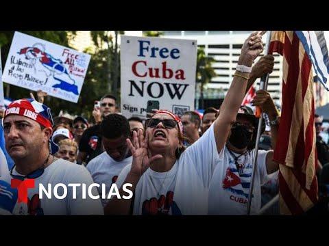 Reclaman libertad para Cuba, Nicaragua y Venezuela   Noticias Telemundo