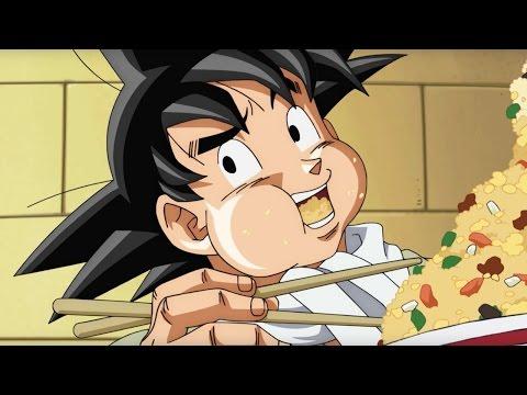 Dragon Ball Super - Goku and King Kai  Dub Clip