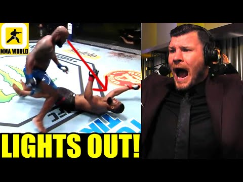 MMA Community Reacts to Derrick Lewis' Brutal Knock Out of Curtis Blaydes, UFC Vegas 19 results