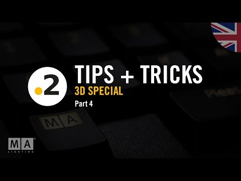 dot2 tips and tricks – special dot2 3D – No. 04
