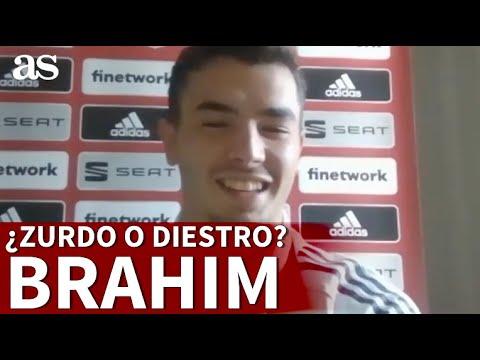 El secreto de Brahim sobre su pierna buena ¿Zurdo o diestro? | Diario AS