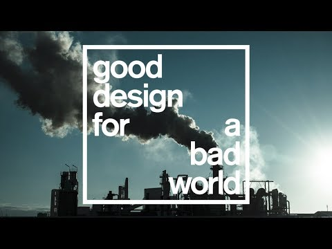 Highlights of Dezeen's pollution talk for Good Design for a Bad World