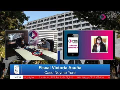 Entrevista-  Fiscal Victoria Acuña- Caso Noyme Yore