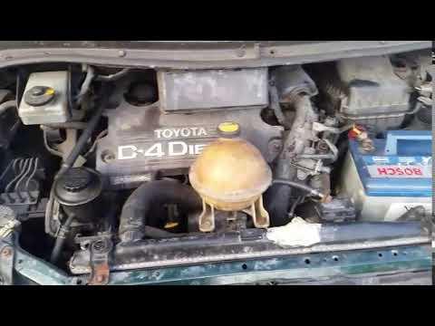 Toyota Previa 2006 m dalys