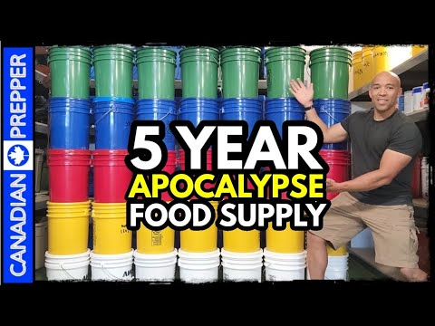 5 Year Survival Food Supply: $7,000 and 2.5 MILLION Calories