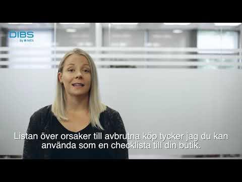 Svensk E-handel 218: varför avbryter kunderna köp på nätet?