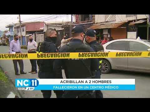 Dos sujetos fueron asesinadosen la Clínica Clorito Picado