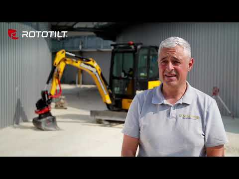Steve Poole of Steve Poole Plant Hire & Groundworks about Rototilt.