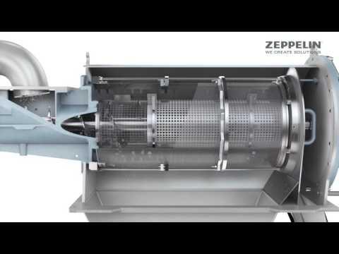 Zeppelin Siebmaschine | Funktionsweise