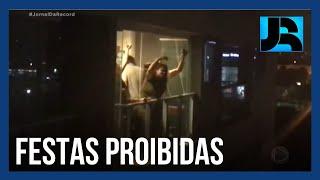 Desrespeito de moradores a medidas de restrição gera tensão e revolta em condomínios
