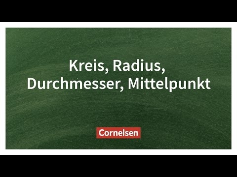 Kreise Zeichnen und Berechnen – Einfach erklärt | Cornelsen Verlag Grundschule