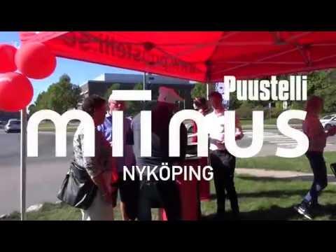 Invigning av Puustelli Miinus i Nyköping
