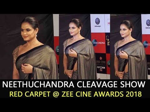 NeethuChandra at Zee Cine Awards 2018