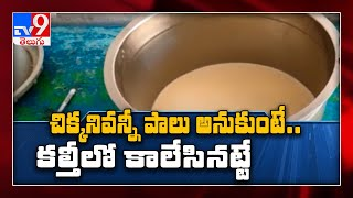 Chittoor జిల్లాలో కల్తీ పాల కలకలం - TV9 - TV9