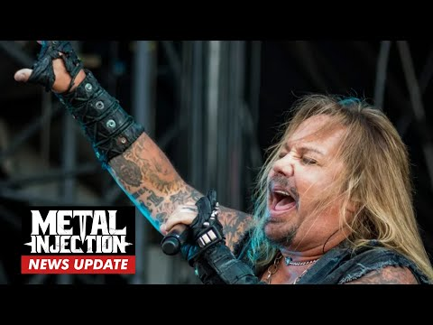 """MOTLEY CRUE's Vince Neil """"Back Home And Resting After Breaking A Few Ribs 