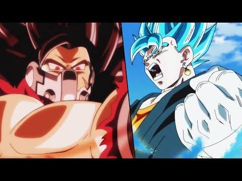 Dragon Ball Heroes Episode 1 Trailer! Vegito Blue Returns! Masked Saiyan Vs Goku And Vegeta!