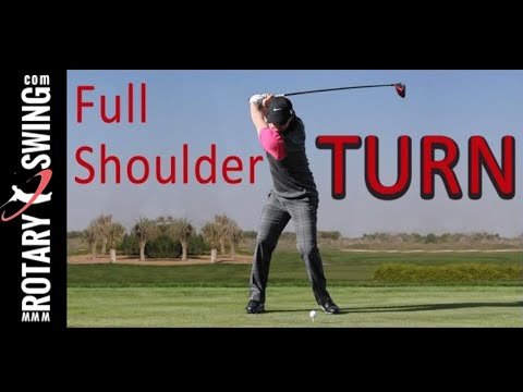 EVERYONE can make a FULL SHOULDER TURN in golf!