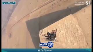 تجربة طيران فوق اهرامات مصر