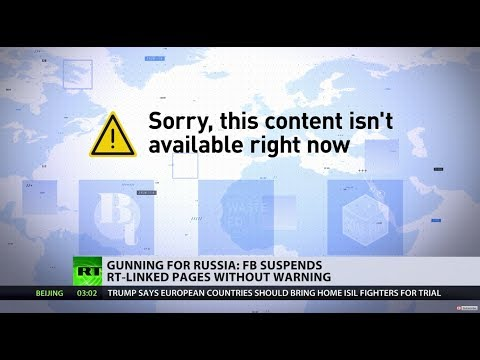 'Unprecedented punishment': Facebook bans RT-linked pages for 'failing' to mention funding source
