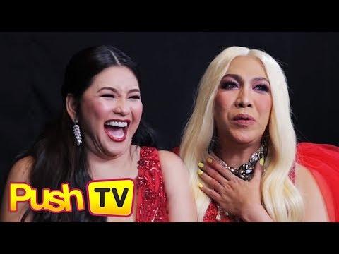PUSH TV: Vice Ganda, inaming binibigyan siya ng sapatos at damit ni Regine noong hindi pa sikat