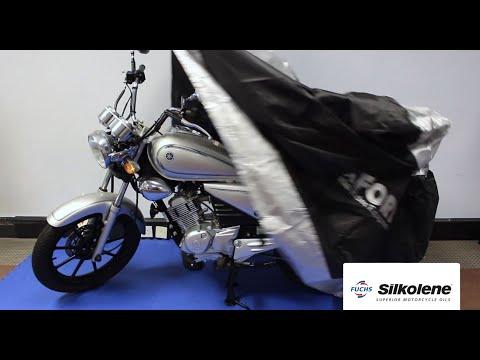 Så här förbereder du motorcykeln för vinterförvaring - Silkolene