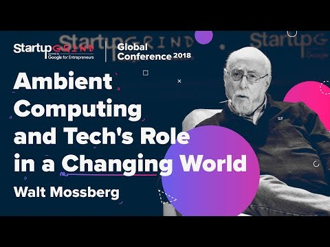 Ambient Computing and Tech's Role in a Changing World