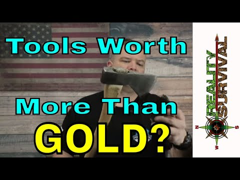 Will Tools Be Worth More Than Gold After SHTF To Preppers