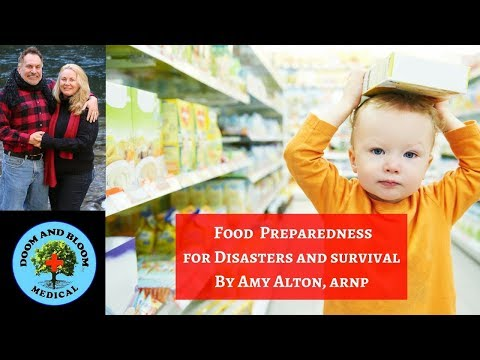 Food Supplies for Disasters and Survival