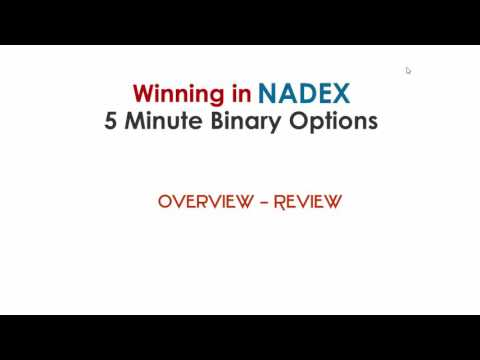 Winning in NADEX 5 Minute Binary Options Course   Review
