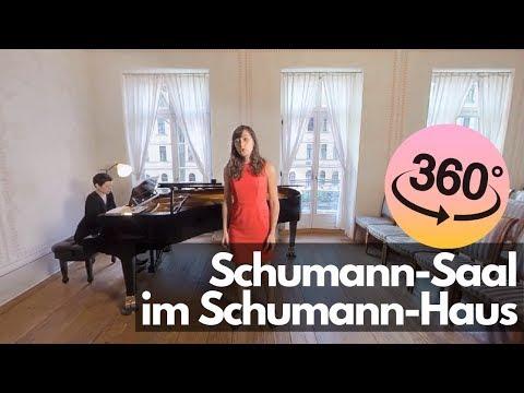 360° Schumann-Saal im Schumann-Haus