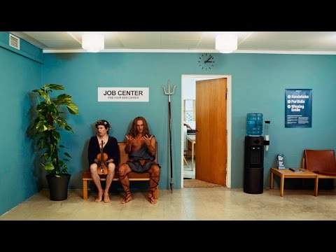Poseidon, the Neck and the Mermaid meet at the job center