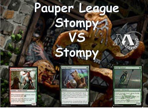Pauper League R4 Stompy Vs Stompy
