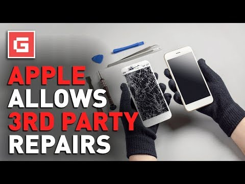Apple FINALLY Allows 3rd Party Repairs!