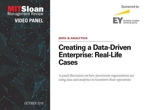 Creating a Data Driven Enterprise: Real Life Cases
