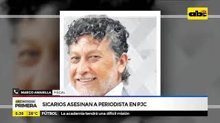 Sicarios asesinan a periodista en PJC