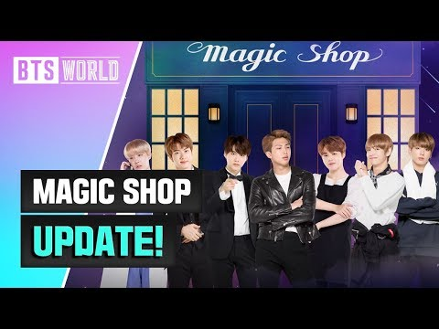 [BTS WORLD] MAGIC SHOP Update!