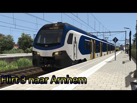 Flirten naar Arnhem - Train Simulator 2019